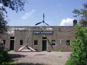 Vooraanzicht Fort Veldhuis