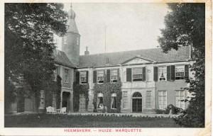Oude ansichtkaart Marquette