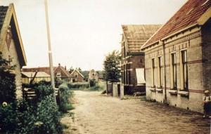 De huizen die ook wel werden aangezien voor Het Hoge Werfje