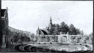 Marquette, gezien vanuit het rondeel