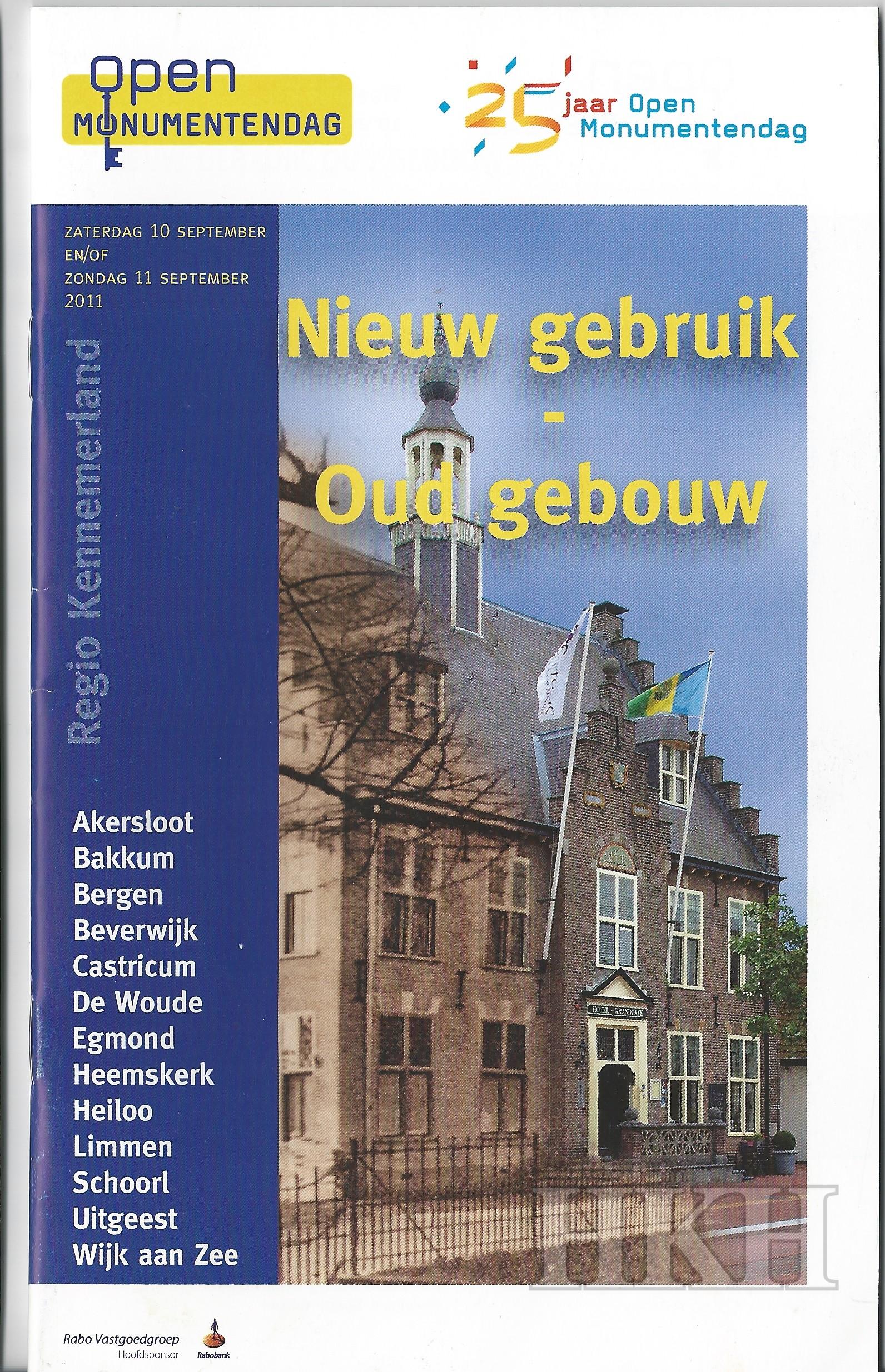 regionale brochure OMD 2011