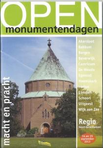 regionale brochure OMD 2013