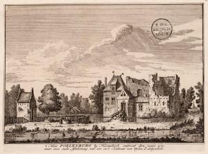 Poelenburg ca 1570 door H. Spilman naar J. Schijnvoet