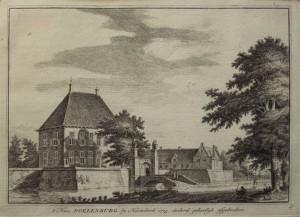 Poelenburg  ca 1725 anonieme tekenaar