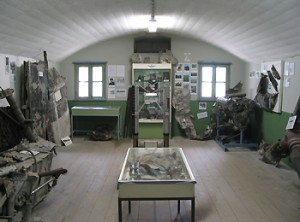 Museumzaal Fort Veldhuis