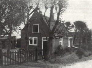 Het tuindershuisje in de veertiger jaren van de vorige eeuw