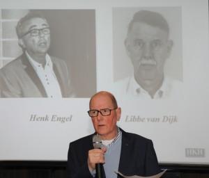 Niek Linger en de nieuwe bestuursleden